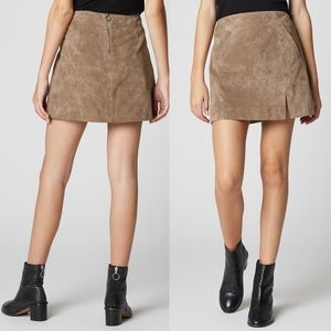 Blank NYC • French Taupe Skirt